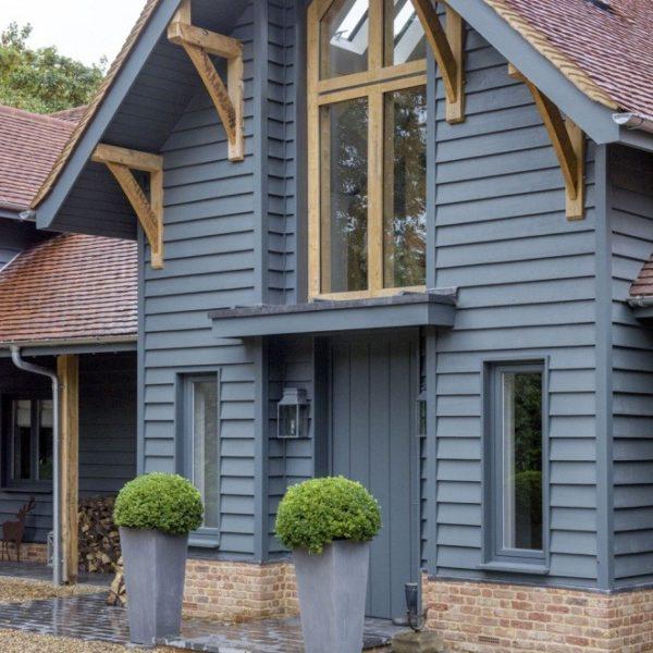 Облицовка каркасного дома деревянным сайдингом