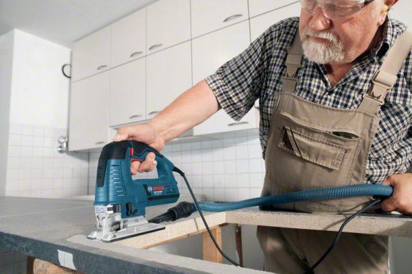 Как вырезать в столешнице отверстие под раковину