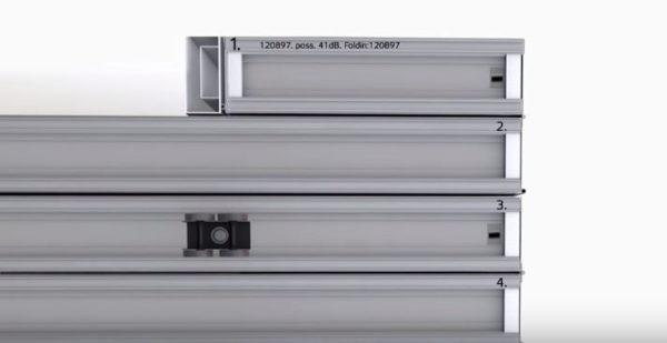 Заводская нумерация панелей определяет порядок их монтажа