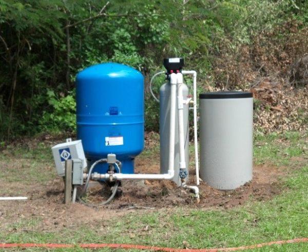 Наружная система водоочистки
