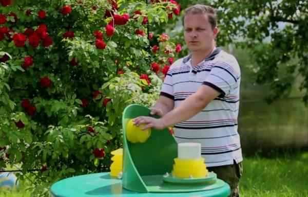 Макет: муфта для водопроводной трубы
