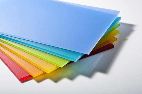 Цветные промышленные стекла