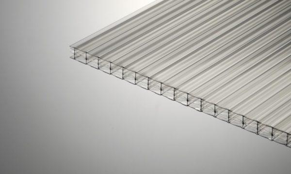 Структура поликарбоната сотового типа
