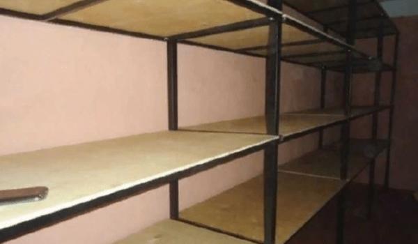Многоярусная напольная система хранения