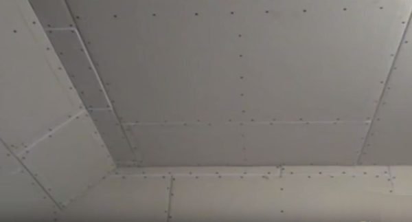 Потолок готов к отделочным работам