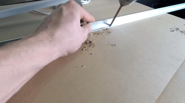 Сверление отверстий под метизы