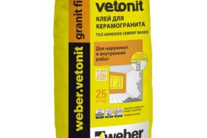 6. Weber.Vetonit Granit Fix