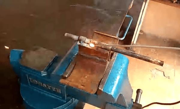 Накладывание швов изнутри