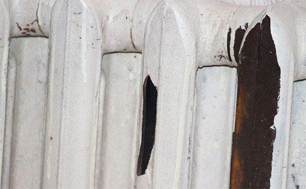 Плачевные последствия замерзания трубы в радиаторе