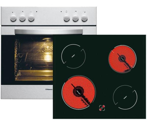 Зависимая духовка связана с варочной панелью