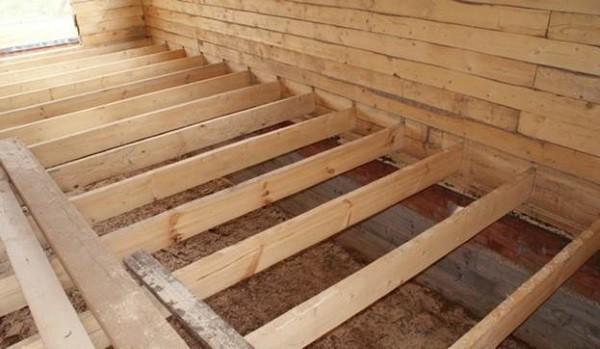 Как утеплить пол пенофолом в деревянном доме