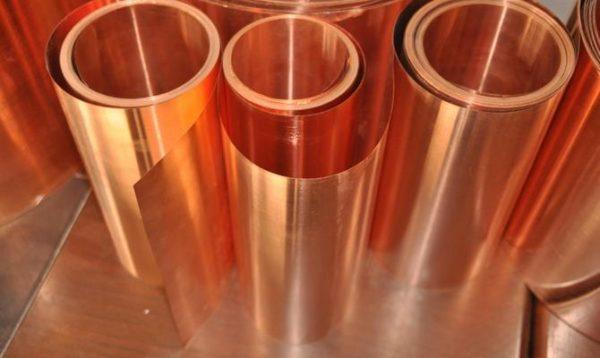 Для изготовления колпака понадобится листовая медь толщиной 0,6 мм