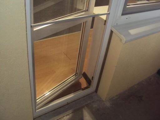 Провисание балконной двери