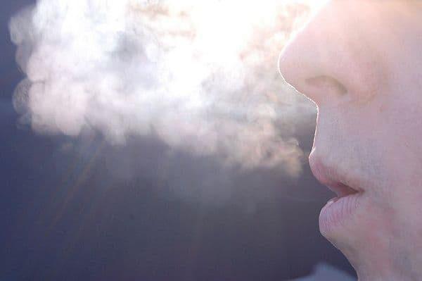 Влага, выделяемая при дыхании