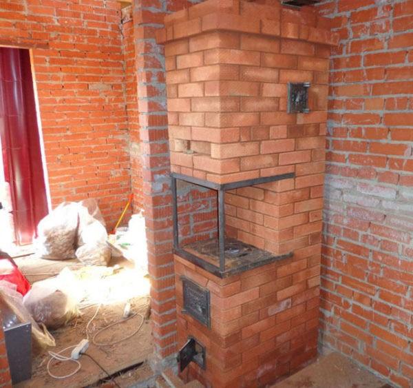 Кирпичную печь можно выложить по своему проекту
