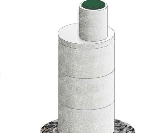 Монтируем кольца меньшего диаметра