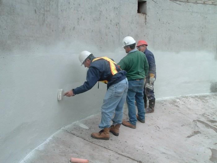 проникающую гидроизоляцию бетона
