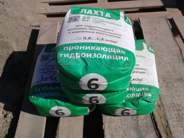 Проникающая гидроизоляция для бетона ЛАХТА