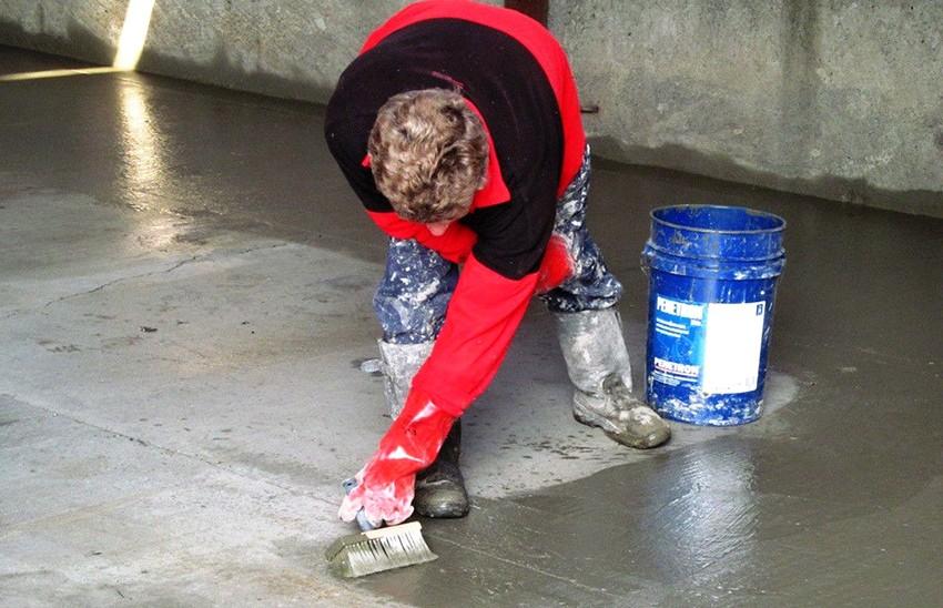 Гидроизоляция для бетонной смеси известковый или цементный раствор для штукатурки
