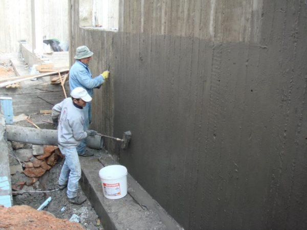 Цементно-полимерная гидроизоляция