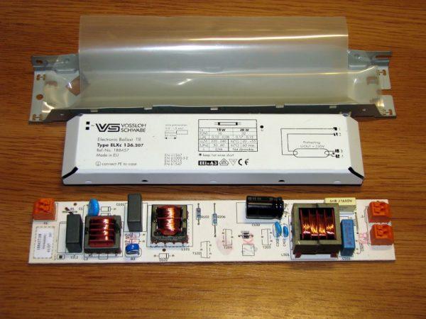 Устройство ЭПРА для люминесцентных ламп