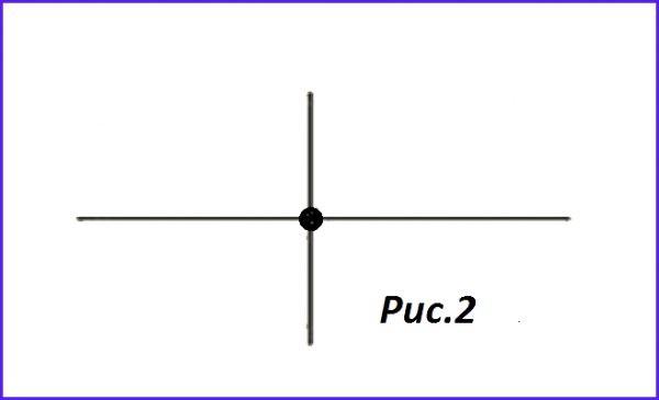 Обозначение соединения с пересечением проводников