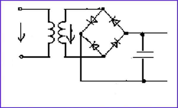 Схема источника постоянного тока
